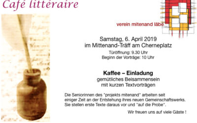 Café littéraire – Vorträge